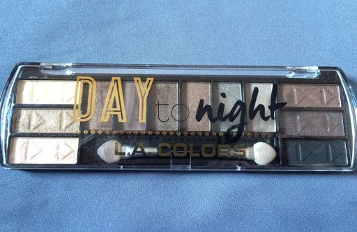 Beginner Beauty Enthusiast: Eyeshadow LA Colors day to night review Indonesia