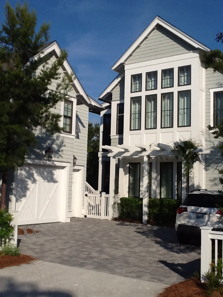 Watersound beach house exterior colors windows home - Coastal home exterior color schemes ...