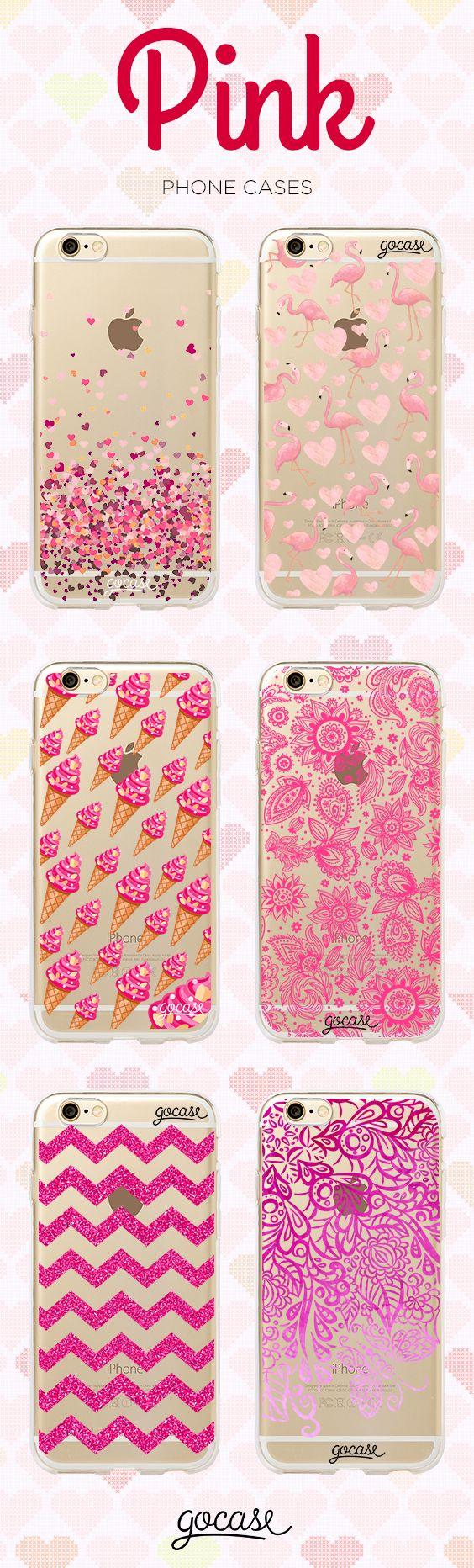 We love pink! www.shop-gocase.com