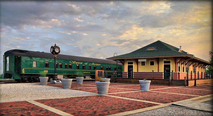 Jasper, Indiana The Spirit of Jasper Train, Scenic & Historic Train Rides Indiana