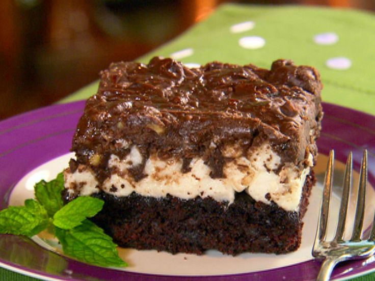 Mississippi Mud Cake recipe from Paula Deen via Food Network