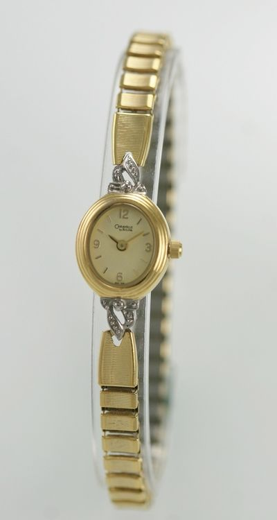 61d70db84 Caravelle Bulova Watch Womens Stainless Gold Steel Stretch Water Resist  Quartz