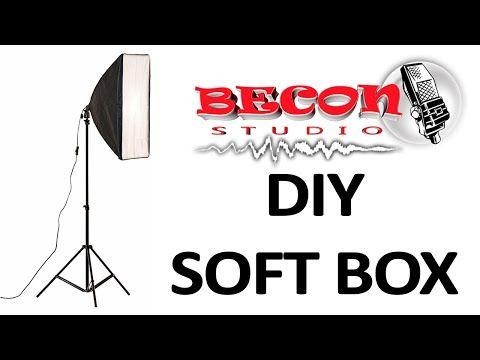 DIY SOFTBOX - SOFTBOX CASERO - YouTube