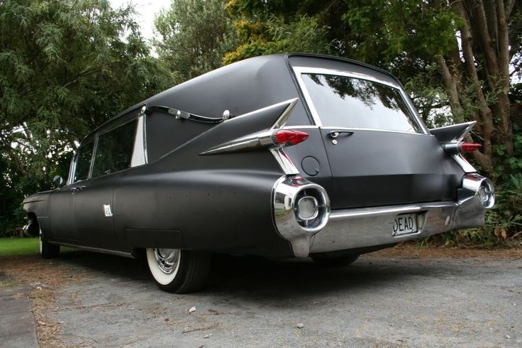 1959 Cadillac Hearse - I know, it's a one-way trip, but if I gotta go, this is one I'd want.