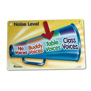 Magnetic Classroom Noise Level Chart - Conduct & Scheduling Tools - Teacher Resources - Shop by Category - Teachers - Learning Resources®