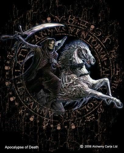 Apocalypse Of Death ~ Alchemy Gothic art