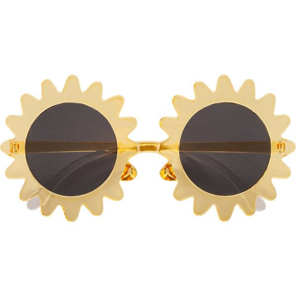 H&M Sunglasses ($7.47) ❤ liked on Polyvore featuring accessories, eyewear, sunglasses, glasses, fillers, yellow, plastic glasses, yellow sunglasses, h&m sunglasses and h&m glasses
