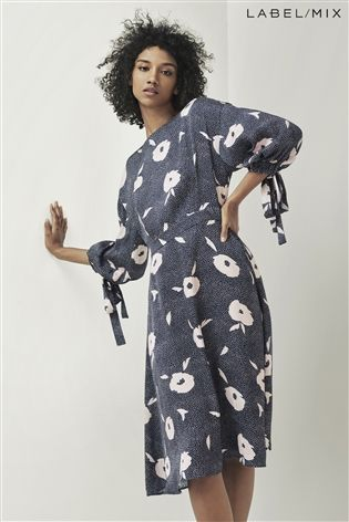 e415ff4ea84 Mix Kitri Studio Floral Spot Jacquard Dress