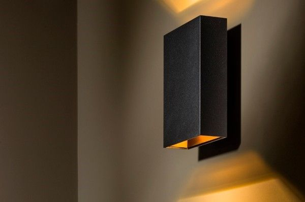 tal boa led up down mains dimmable architectural wall light. Black Bedroom Furniture Sets. Home Design Ideas