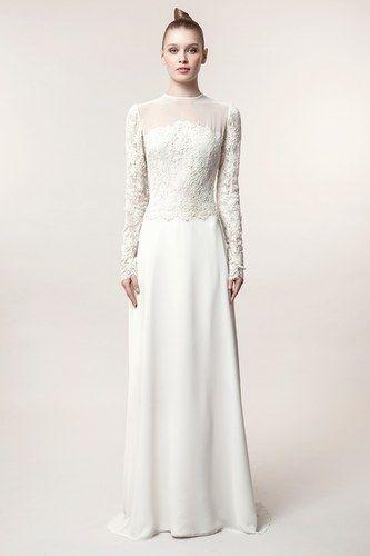 Vestidos de novia románticos