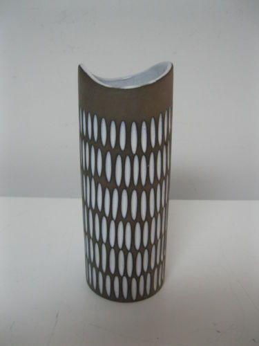 "Vtg Ekeby Upsala Sweden Ingrid Atterberg Mid Centery Modern 7"" Pottery Vase | eBay"