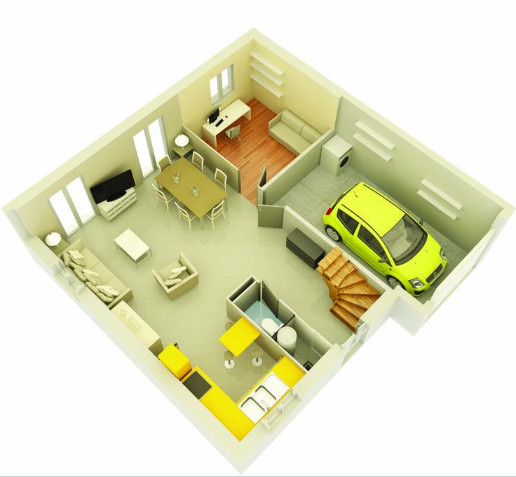 9 best Maisons provençales images on Pinterest Building, Comic and - frais annexes construction maison3