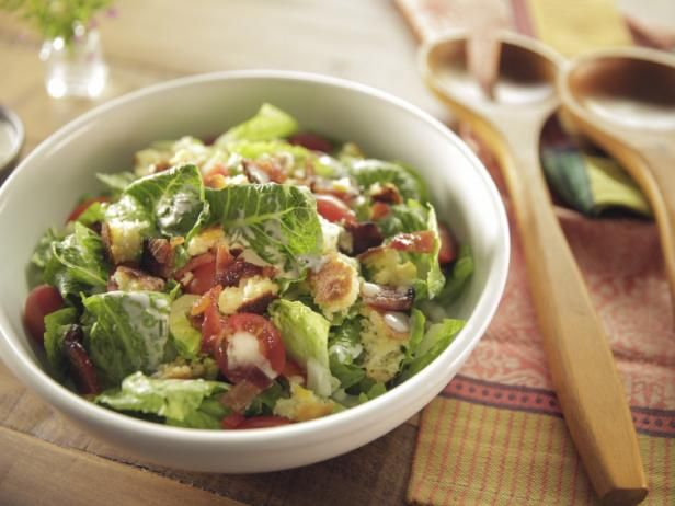Get Cornbread Salad with Buttermilk-Chive Dressing and Maple Bacon Recipe from Food Network