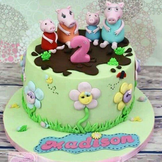 The  Best Pig Birthday Cakes Ideas On Pinterest Peppa Pig - Owl percy pig birthday cake