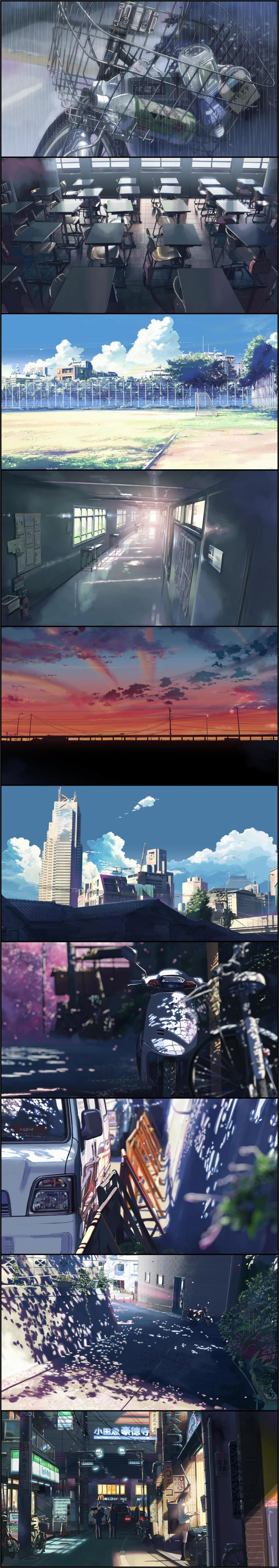 5 Centimeters Per Second. Directed by Makoto Shinkai. Created by CoMix Wave Inc.