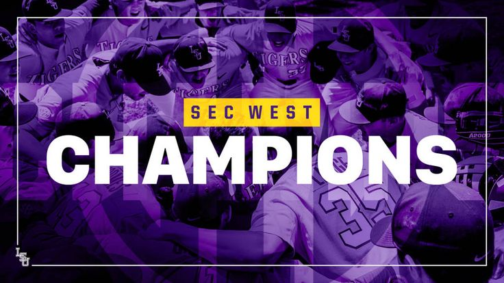 Baseball Captures 19th SEC West Championship - LSUsports.net - The Official Web Site of LSU Tigers Athletics