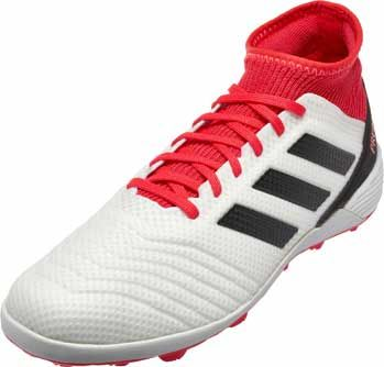new products f1cf1 2396a adidas Predator Tango 18.3 TF - White   Real Coral   SoccerMaster.com