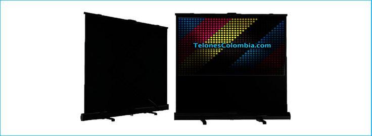 Telón para video beam de piso 240x180 cms