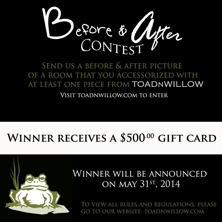 One month left to sign up for the before and after contest!