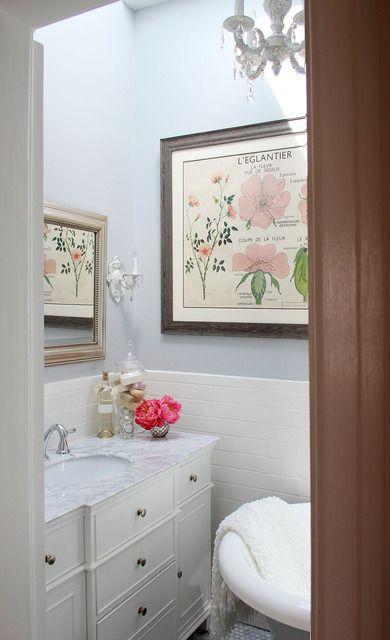 72 best bathroom images on pinterest - Bano shabby chic ...