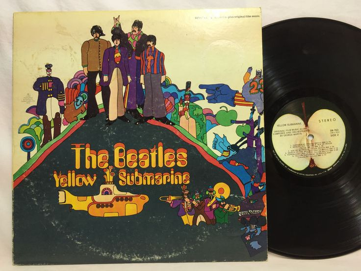 The Beatles Yellow Submarine Original Lp Vinyl Record