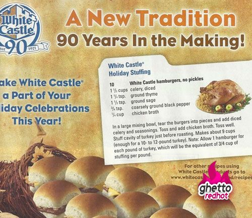 A White Castle Thanksgiving