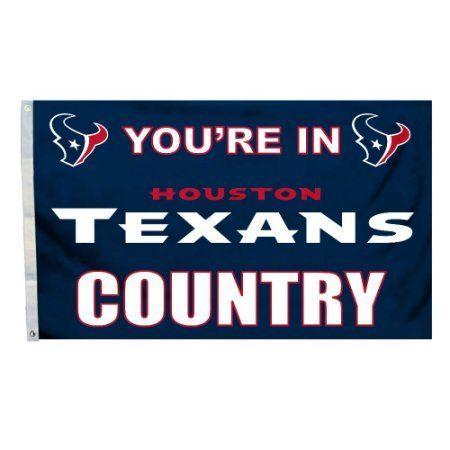 Houstan Texans Country 3' x 5' Flag, Multicolor