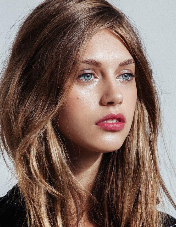 Le maquillage naturel de Louise Coutin