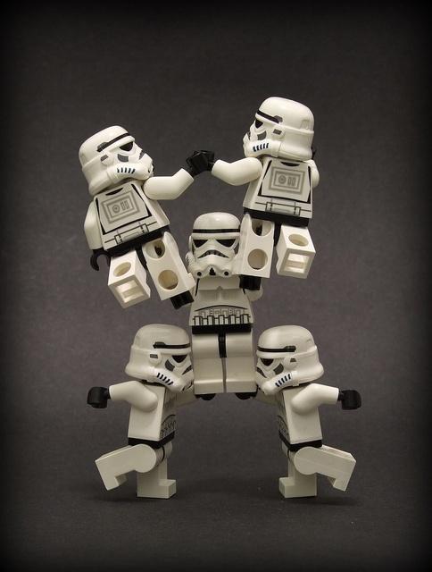 Print for Games room?? LEGO Star Wars Storm Troopers - Cheerleaders