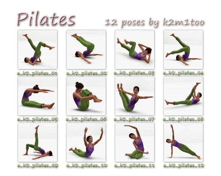 Pix For Gt Pilates Poses Names Pilates Pinterest