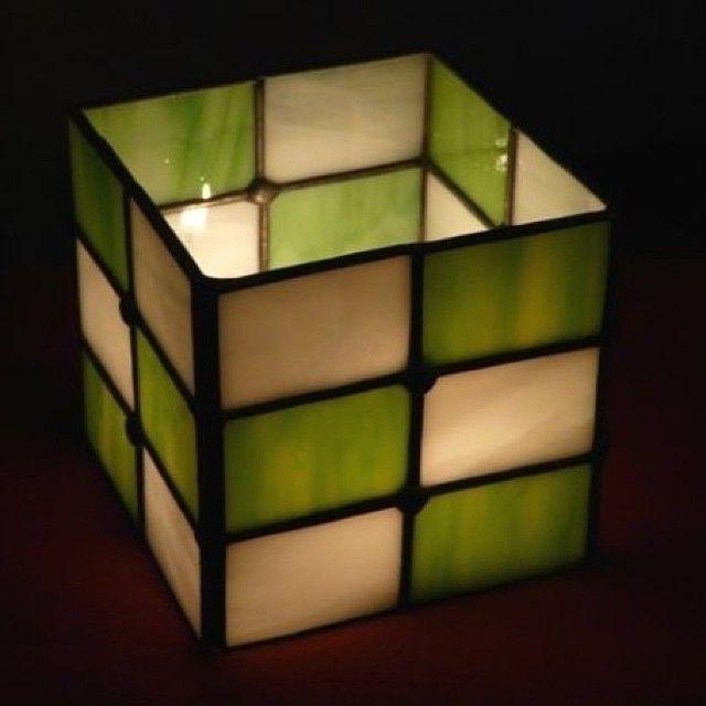 Porta vela cuadrado #vitrales #arteenvidrio #vitrofusion #mosaicos #arte #arquitectura #decoracion #diseño #vitraux
