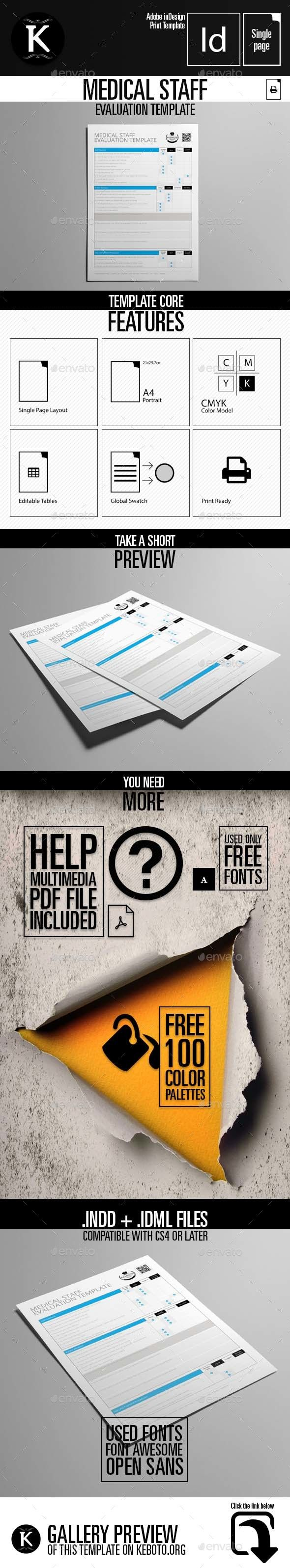 Medical Staff Evaluation Template 1287 best Graphic