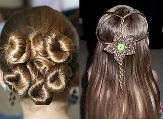 Unique Hair Styles: Gallery For > Easy Pretty Hairstyles For Kids