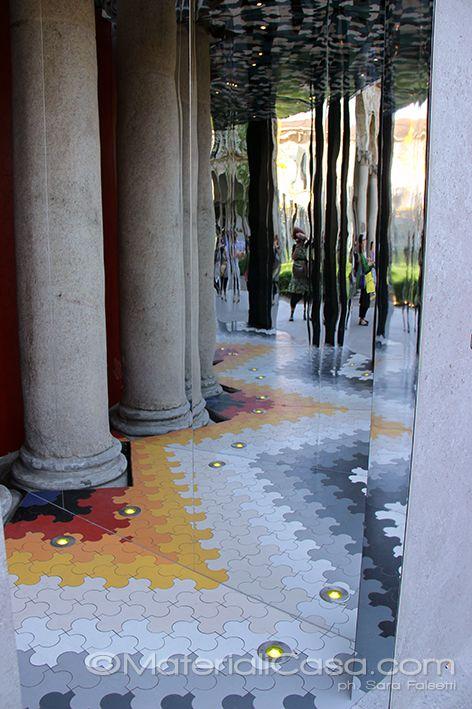 Marazzi @ Università Statale, Milano Design Week 2015. #iSaloni #CeramicTiles #MadeInItaly