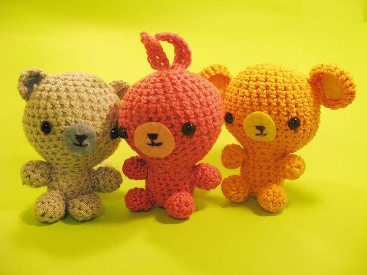 Amigurumi Crochet: Free Patterns - Angry birds, Madagascar Penguins, Pokemon & More