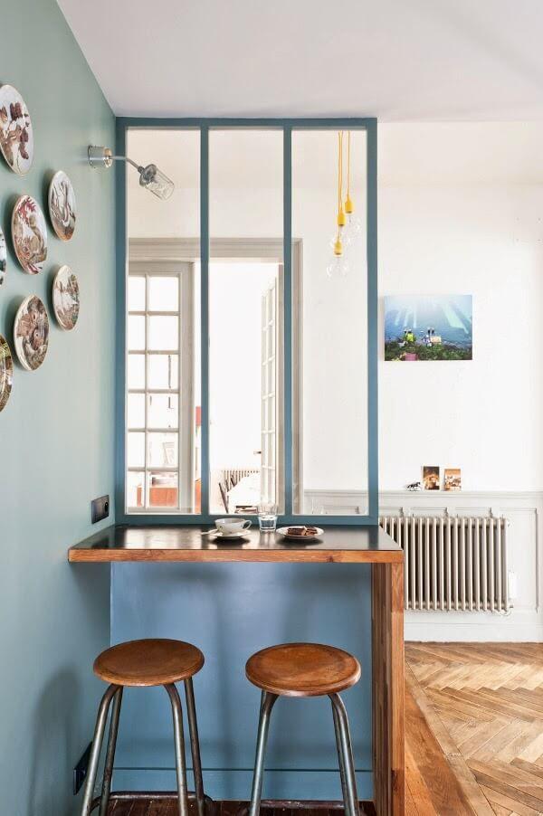 Appartement ancien & design contemporain