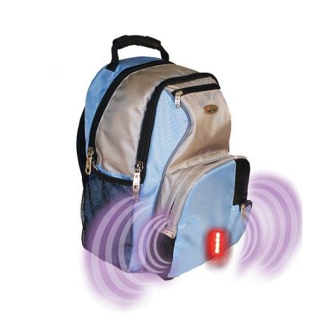 Isafe School Backpack Light Blue