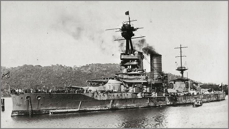 Vintage photographs of battleships, battlecruisers and cruisers.: Chilean battleship Almirante Latorre (aka HMS Cana...