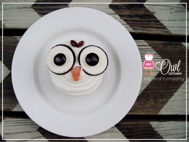 Owl Cupcakes at Kiki and Company #cupcake