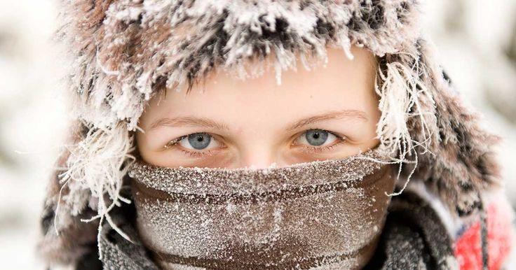 Det är ganska vackert när det fryser rimfrost i hår, skägg och ögonbryn.
