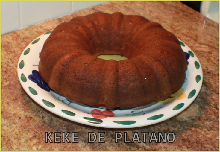 KEKE CAKE  TORTA DE PLATANO #1