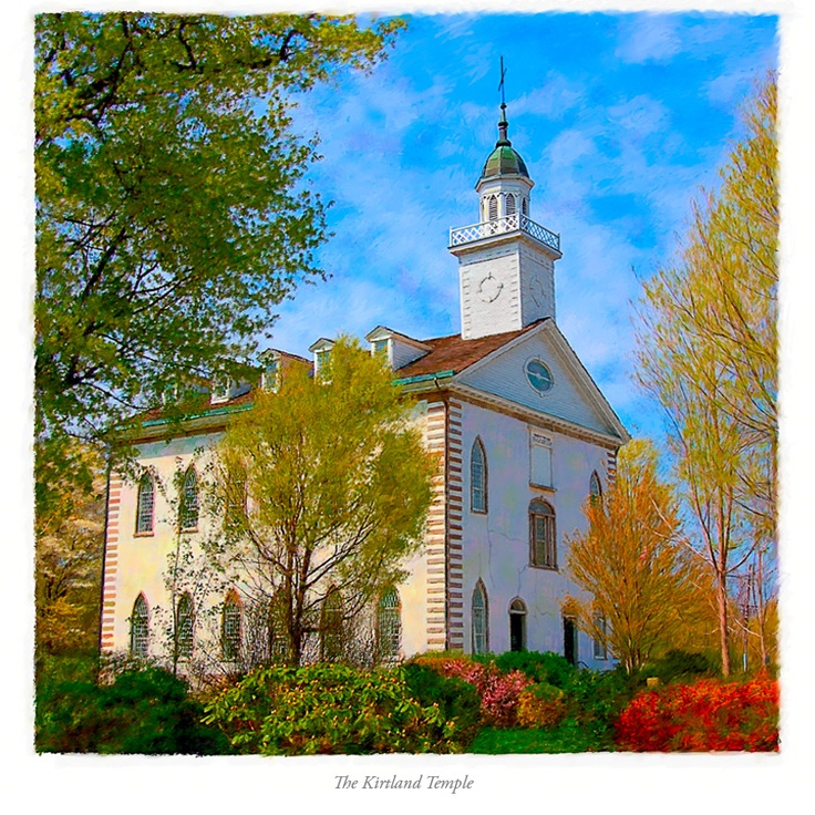 Kirtland Ohio Temple - Service
