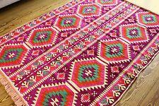 135 cm x 200 cm Orientalischer Teppich, Kelim ,Carpet aus Damaskunst S 1-4-72