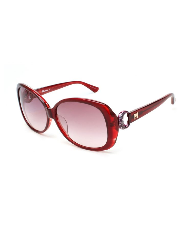 MISSONI Missoni Women'S Oversized Groovy Sunglasses Red'. #missoni #sunglasses