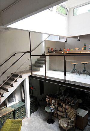 Un loft entre récup et design – Miluccia