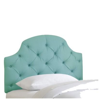 Tufted Headboard for Ave. risky or cool?