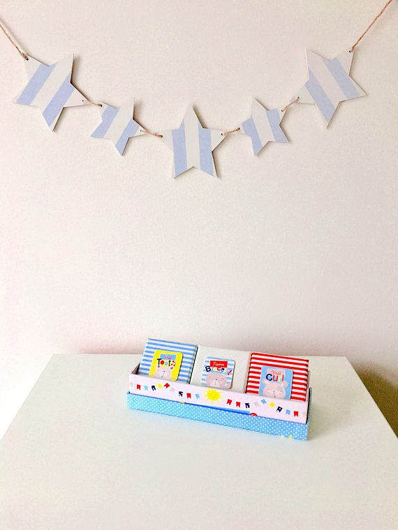 Wooden bunting bunting bedroom accessories new baby gift