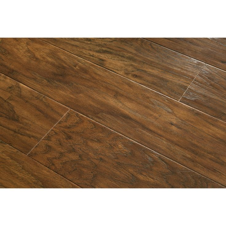 Shop Allen + Roth 4.85-in W X 3.93-ft L Toasted Chestnut