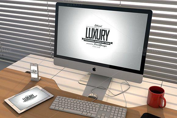 Luxury PowePoint Template by VladAlexandru93 on @creativemarket