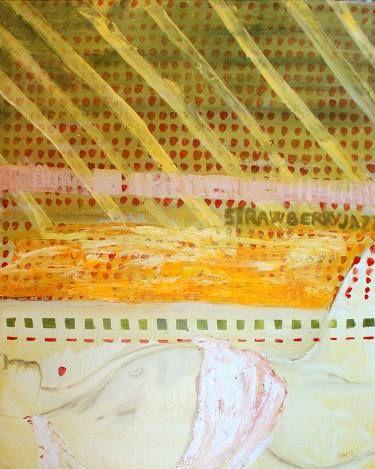 """Saatchi Art Artist Loredana Găină; Painting, """"Solaris"""" #art"""